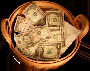 church offering baskets - 293×231